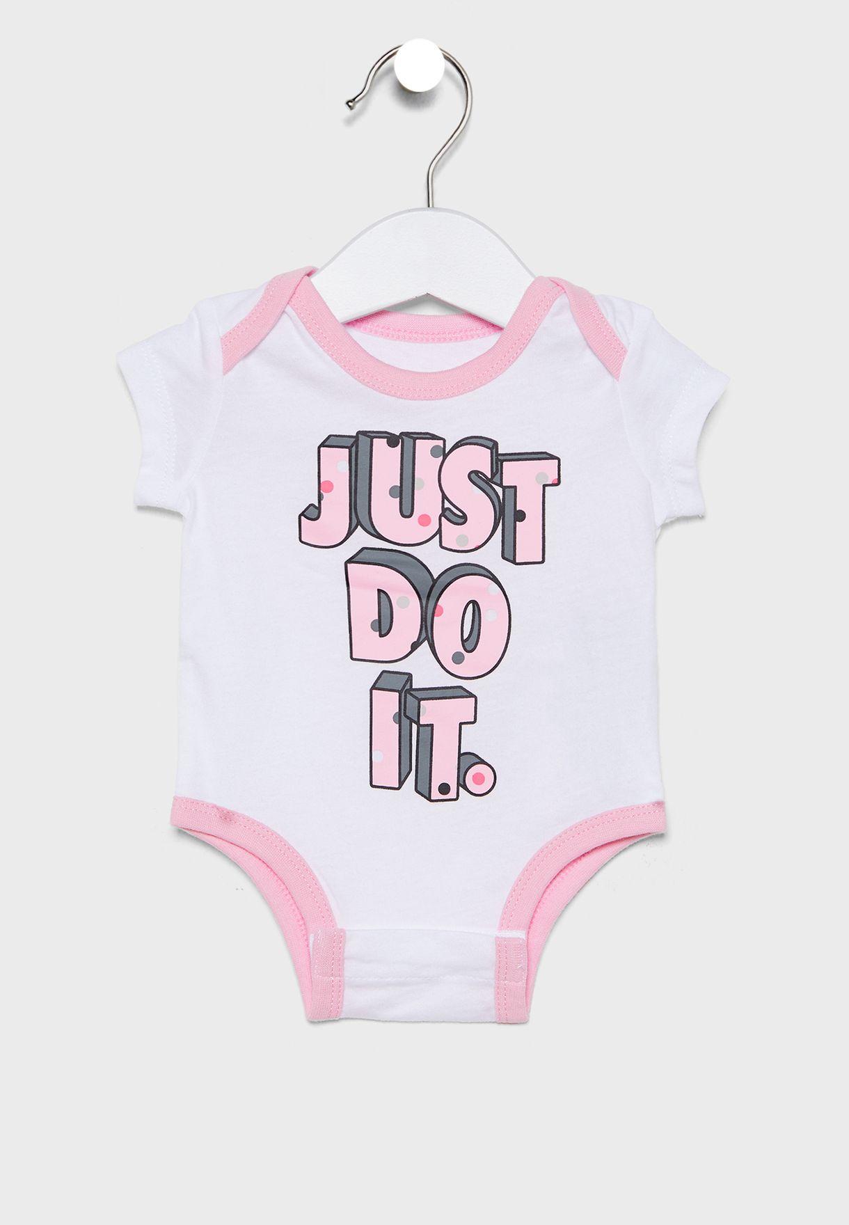 Infant 3 Pack Dot 2.0 Bodysuit