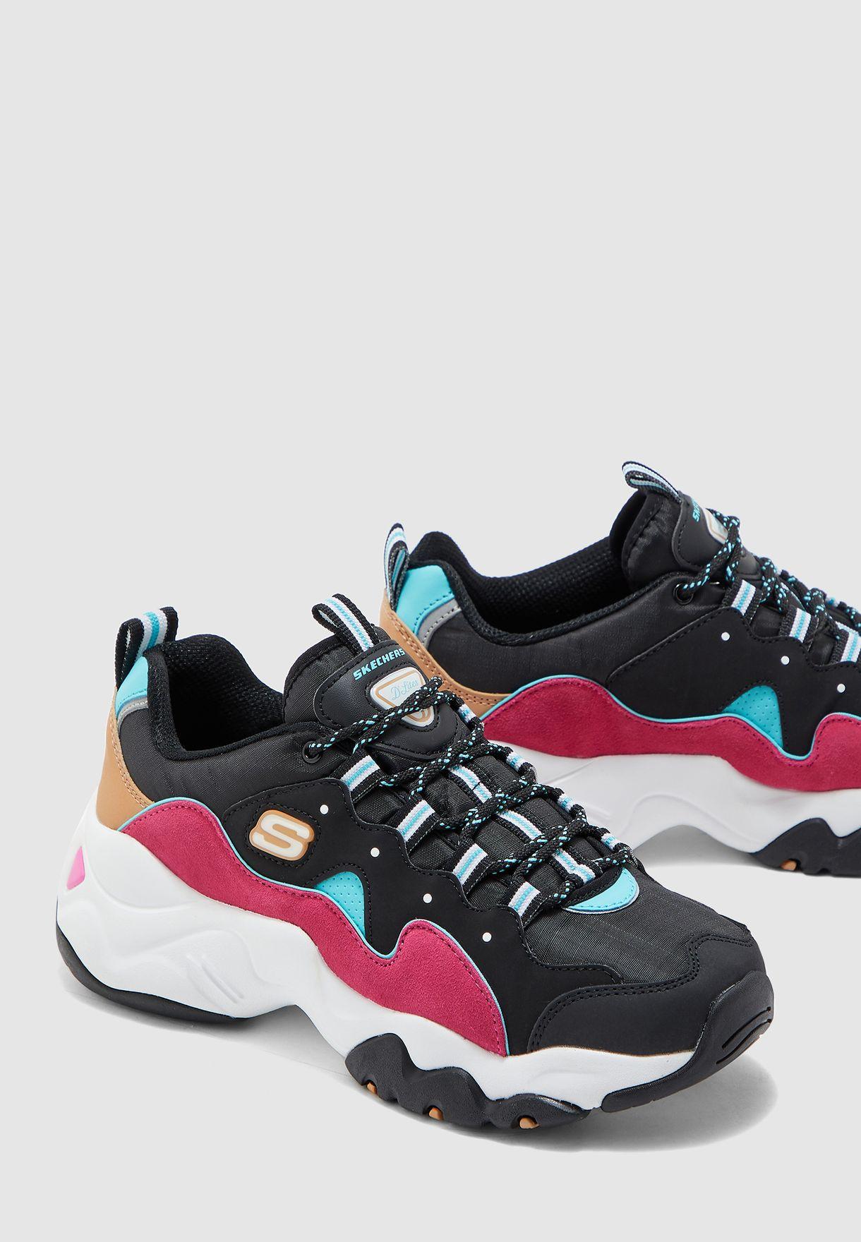 dominar Elegancia demasiado  Buy Skechers multicolor D'Lites 3.0 for Women in MENA, Worldwide |  13378-BBLP