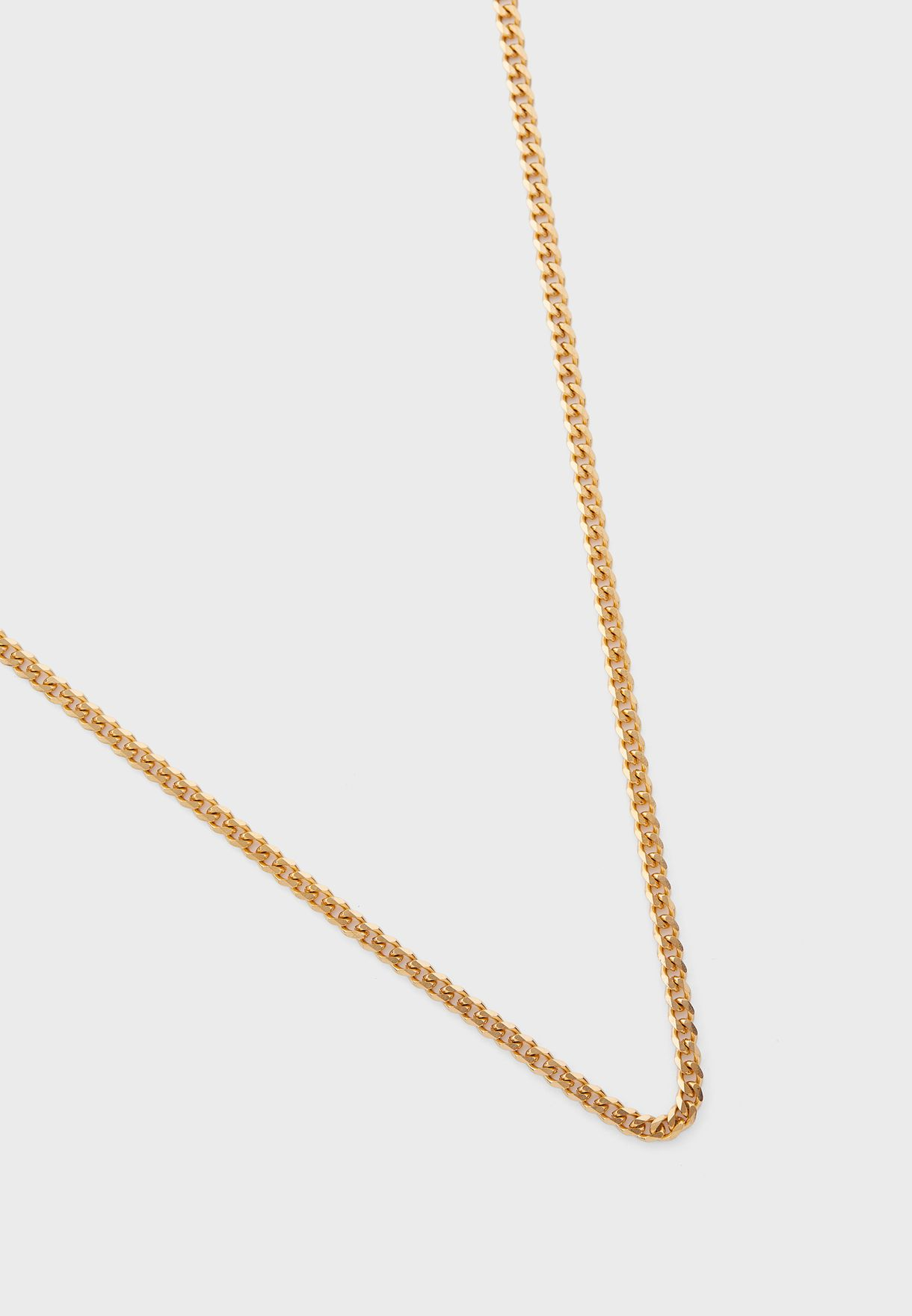 Cuban Link Chain Necklace - 22 Inches