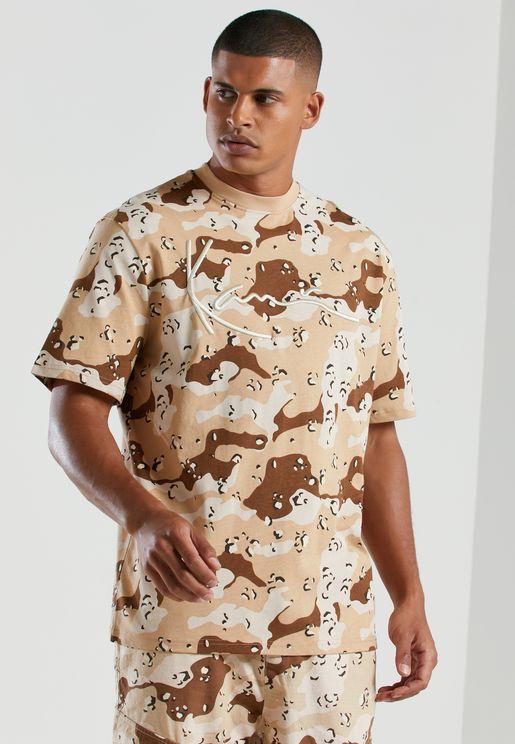 Signature Camo T-Shirt