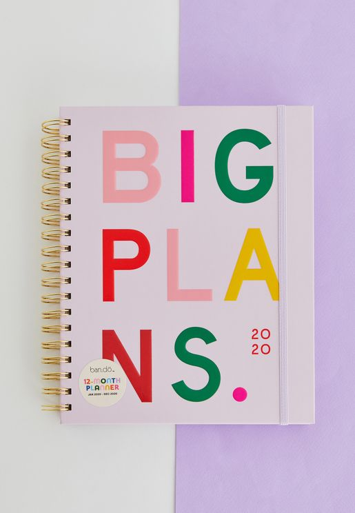 Large 12-Month Planner - Big Plan