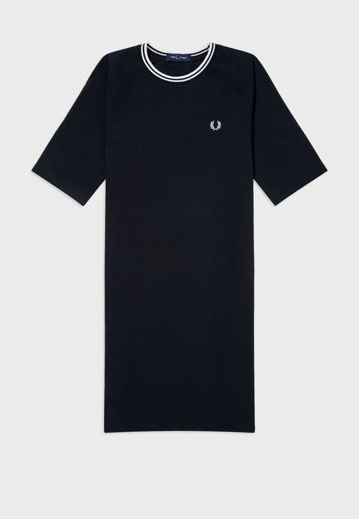 Twin Tipped Piqua© T-Shirt Dress