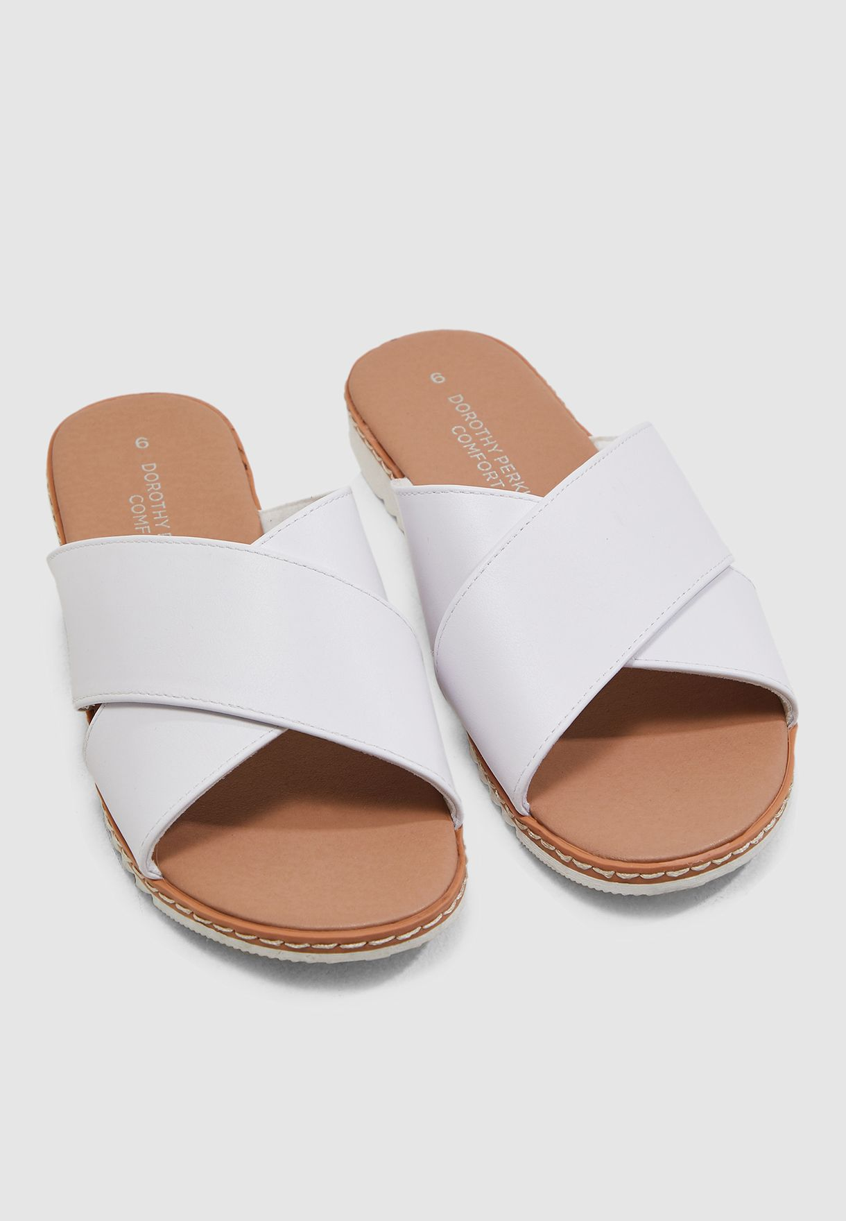 Felicity Cross Over Sponge Sandal