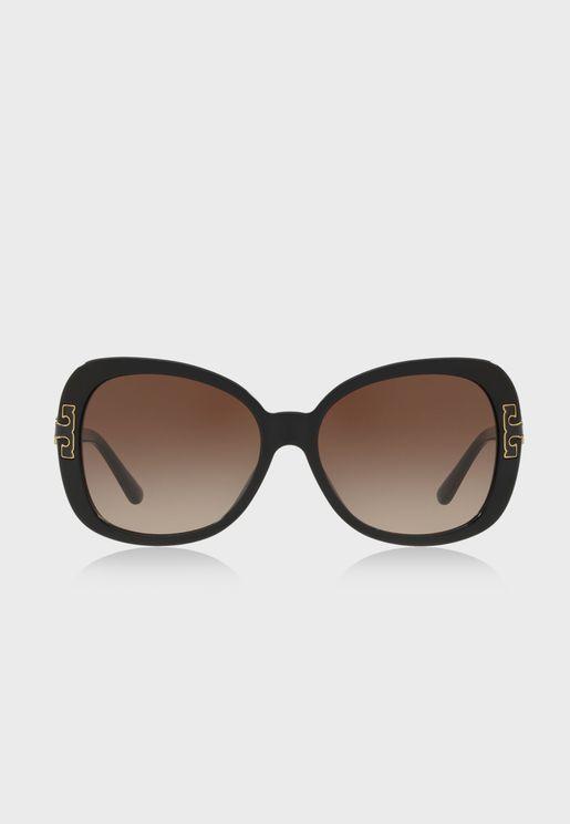 0TY7133U Oversized Sunglasses