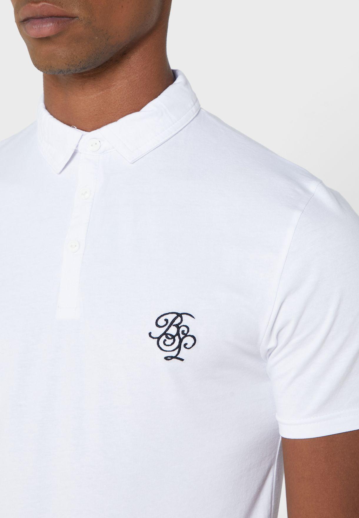 Tipped Collar Polo Shirt