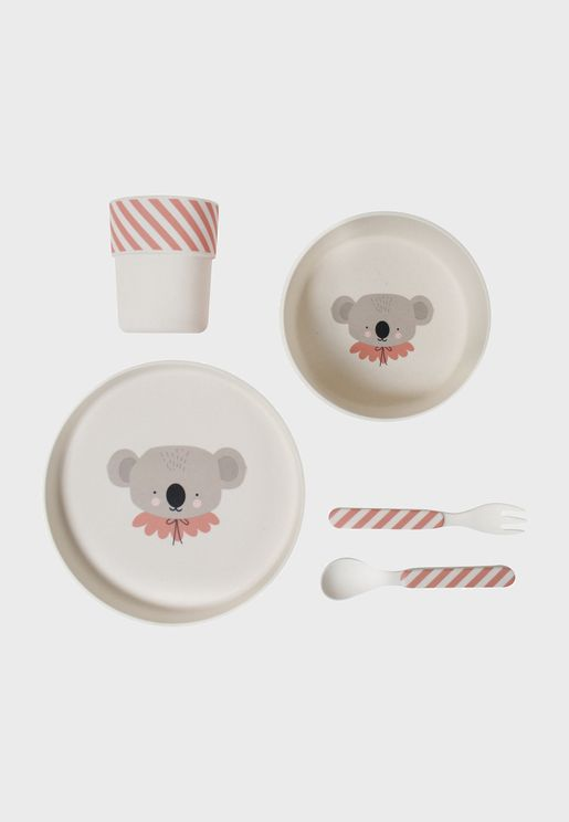 Bamboo Koala Eco Dinner Set