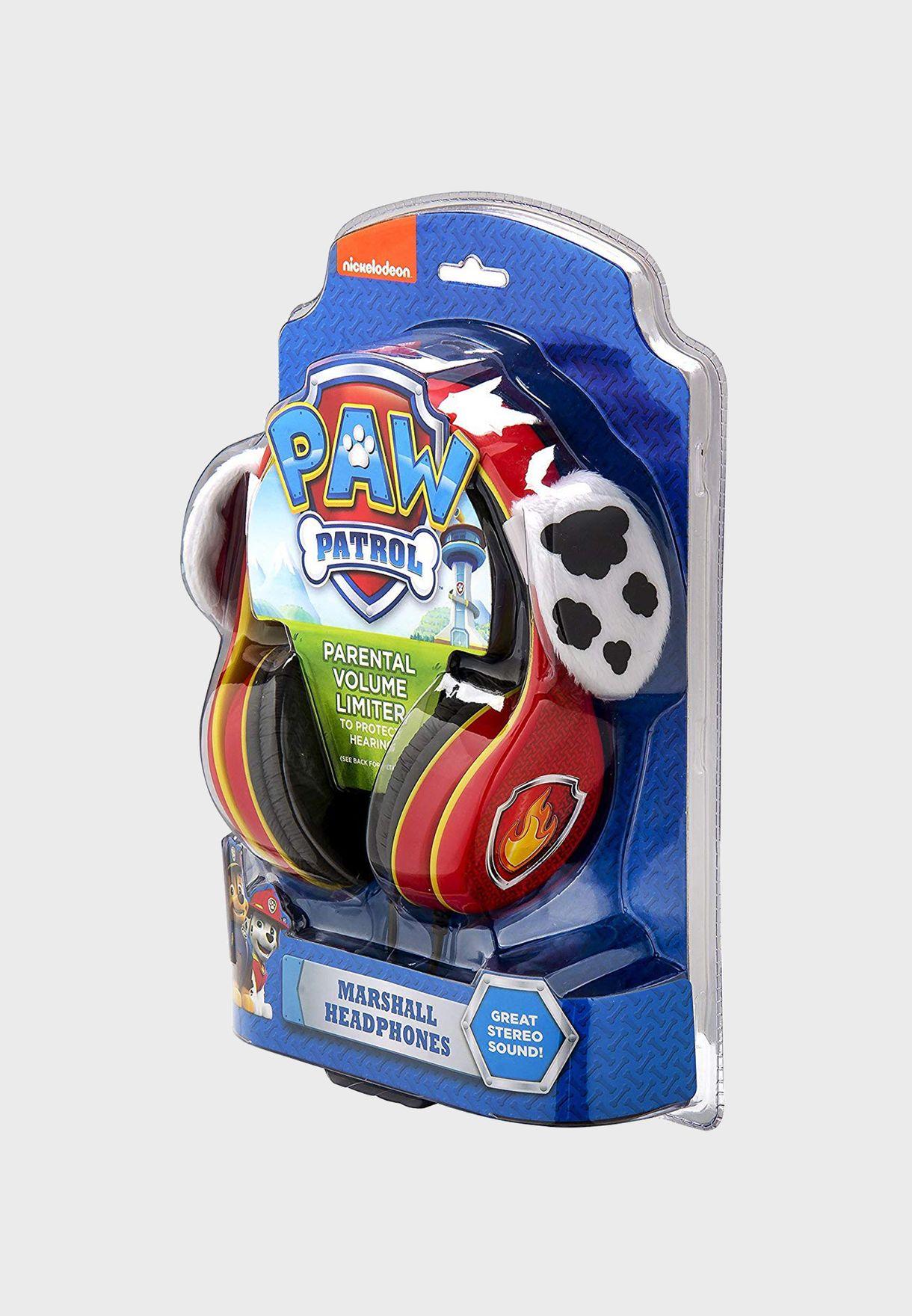 Paw Patrol Marshall Over Ear Headphones