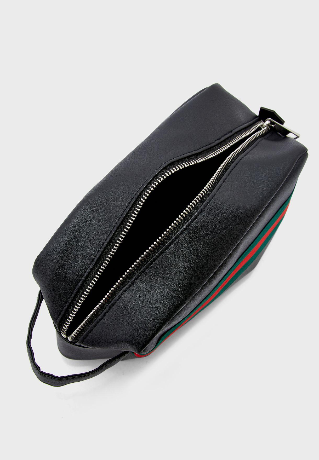 Stripe Toiletry Bag