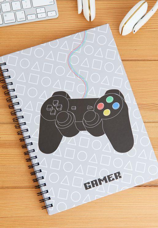 A4 Gaming Controller Notebook