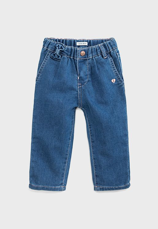 Infant Knot Detail Jeans