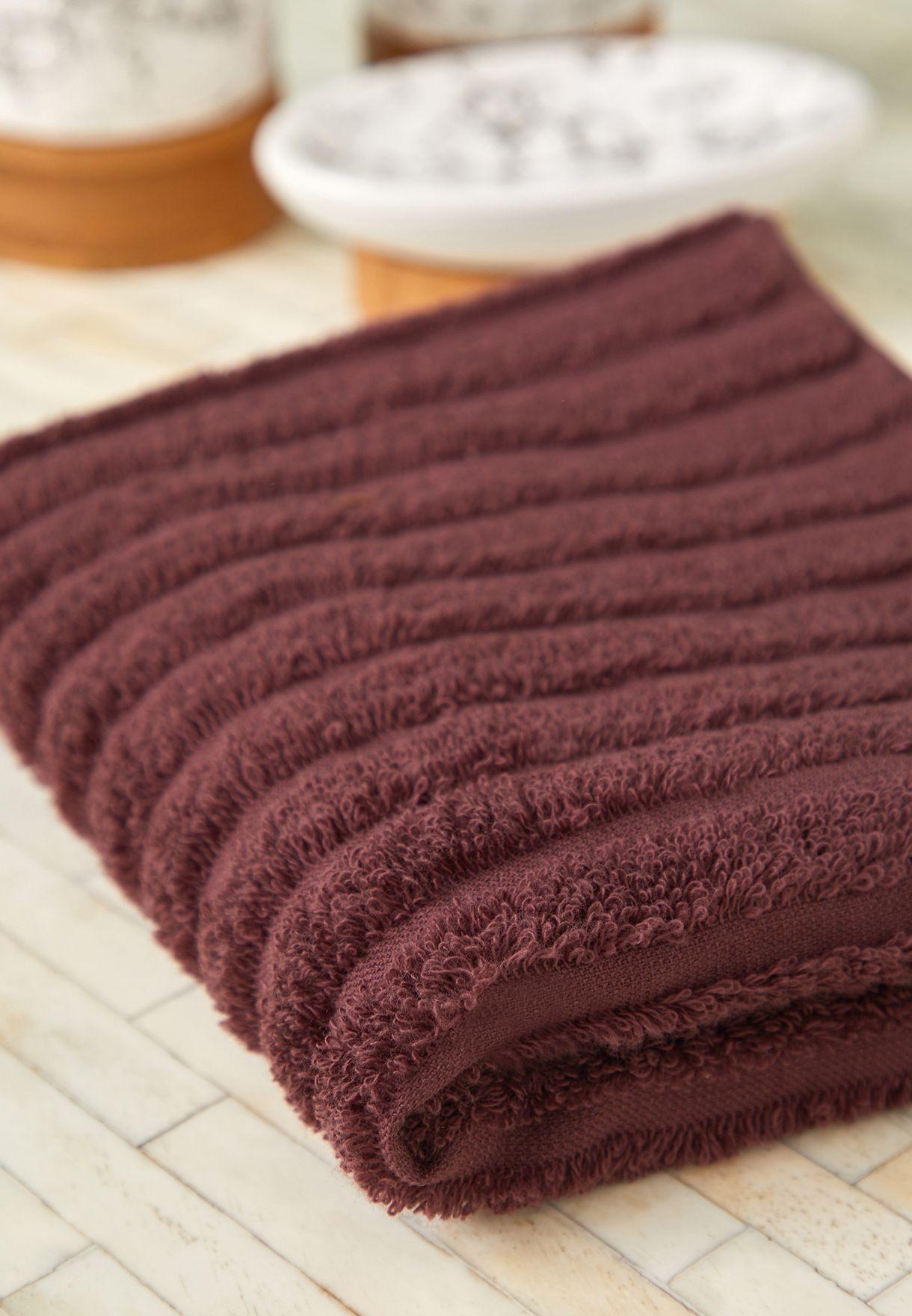 Burgundy Hand Towel