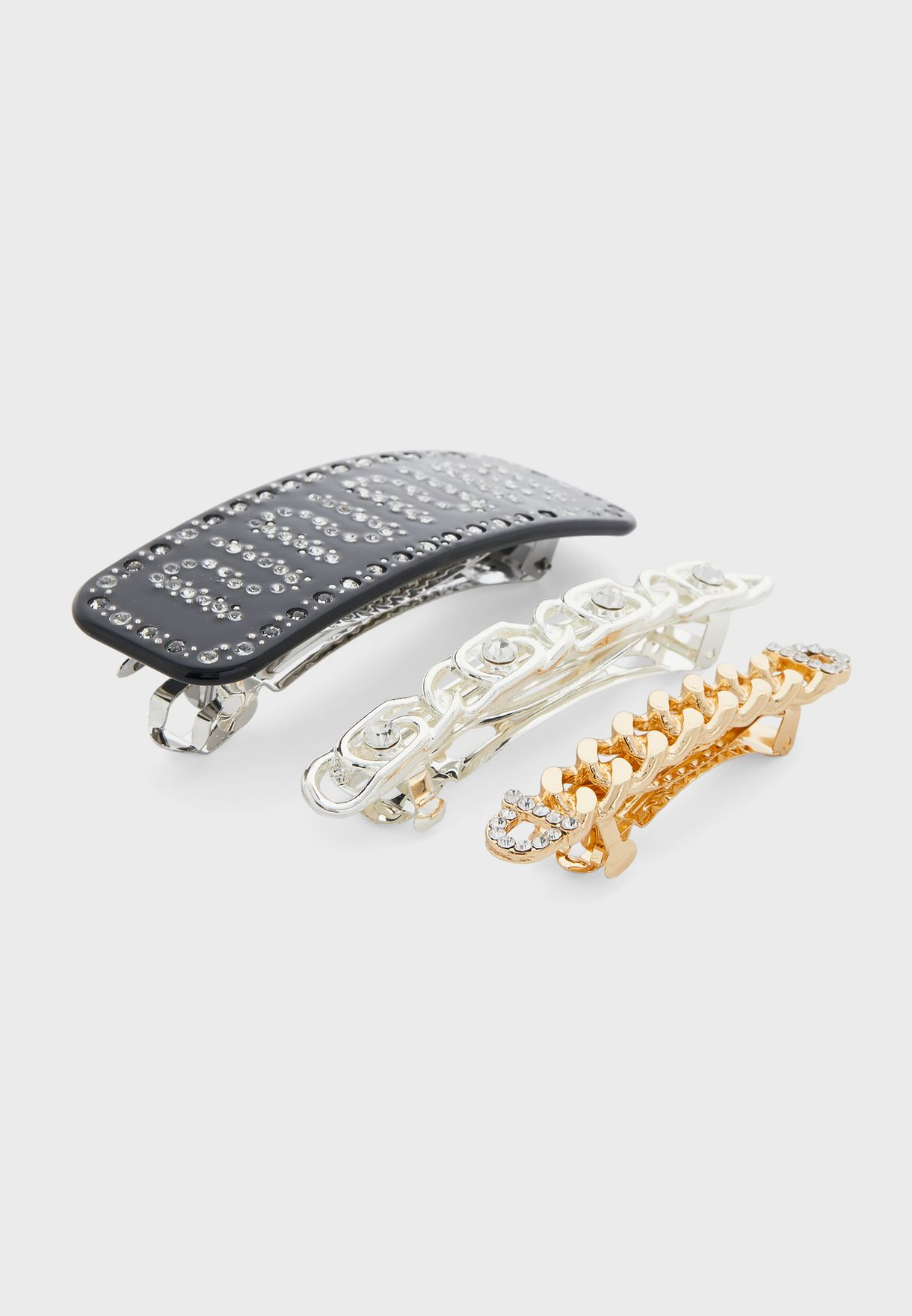 Hair Clips Pack of 3