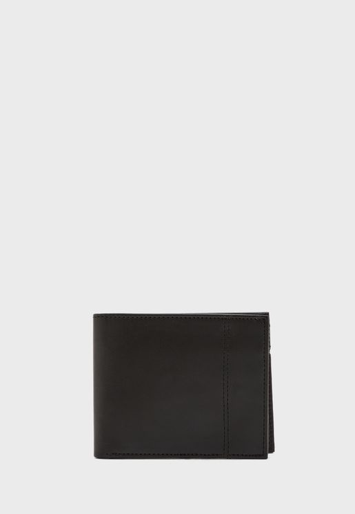 Casual Wallet with Note Clipper