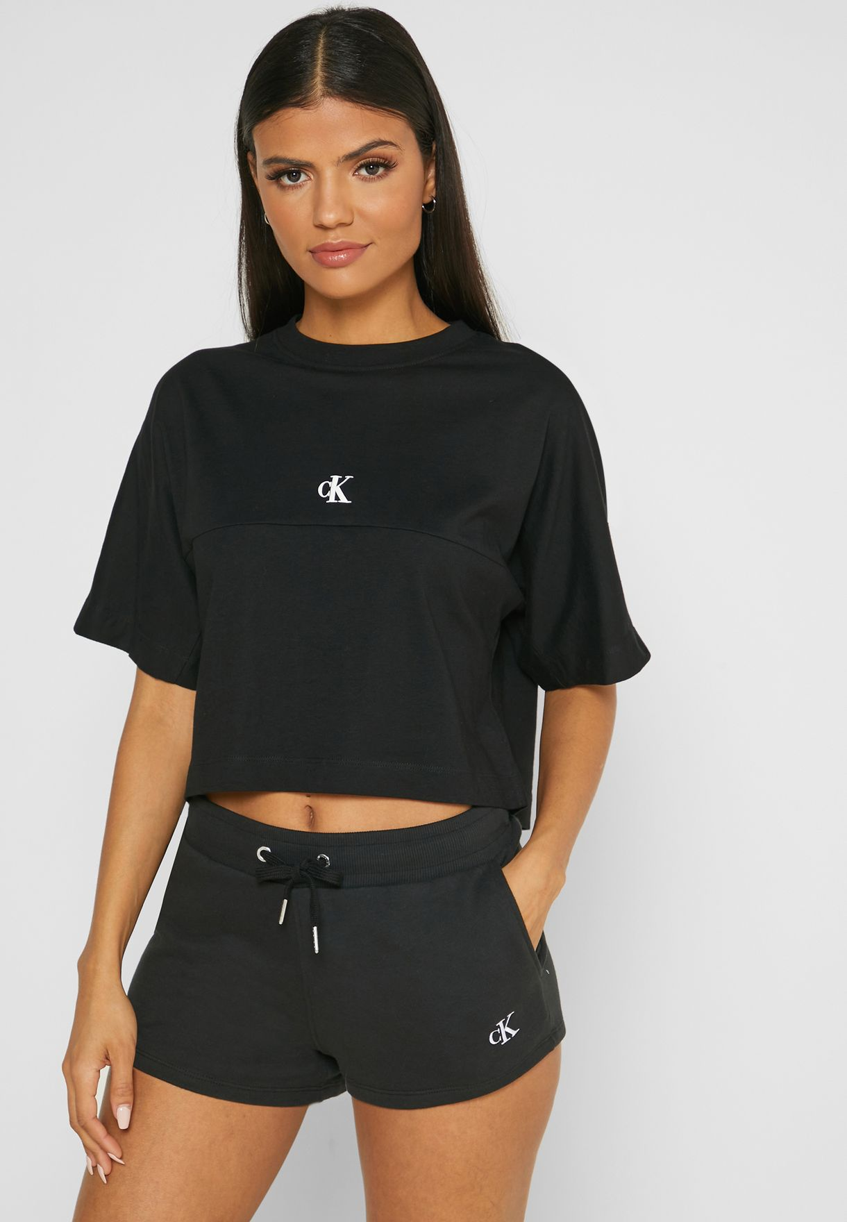Puff Sleeve Logo T-Shirt