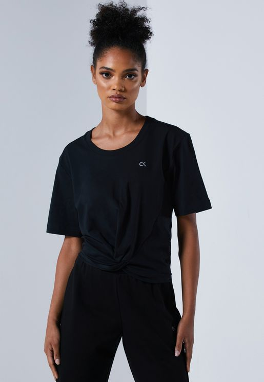 Ruched Front T-Shirt