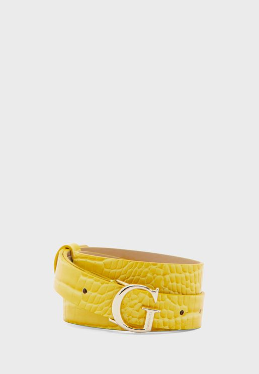 Corily Allocated Hole Belt
