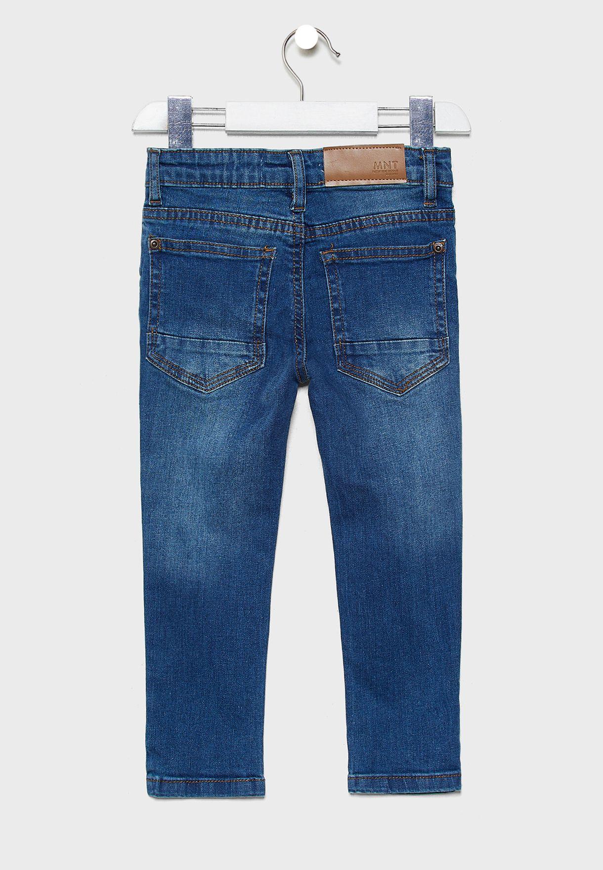 Little Dark Wash Regular Jeans
