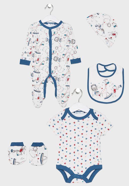 Infant 5 Pack Animal Gift Pack