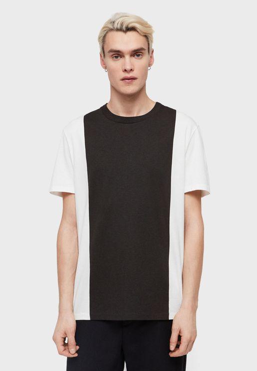 Helix Contrast Crew Neck T-shirt