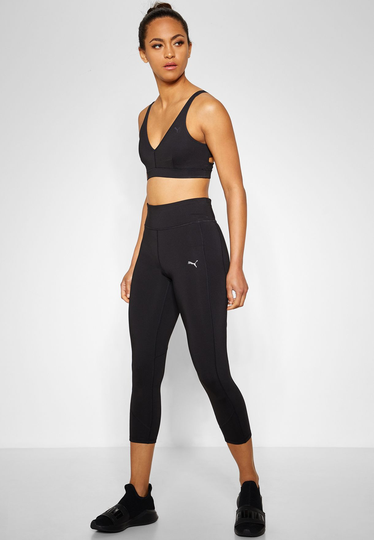 billigt till salu innovativ design lägsta pris Buy Puma Black Always On Solid 3/4 Leggings for Women in Mena ...