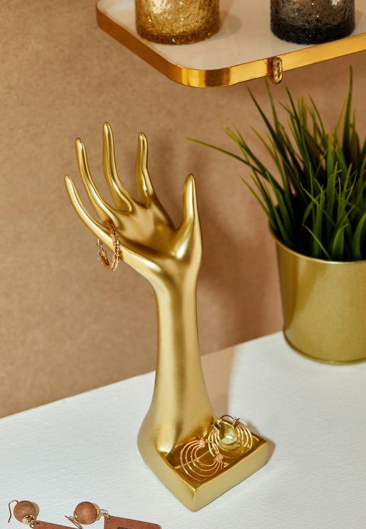 Golden Hand Jewellery Stand
