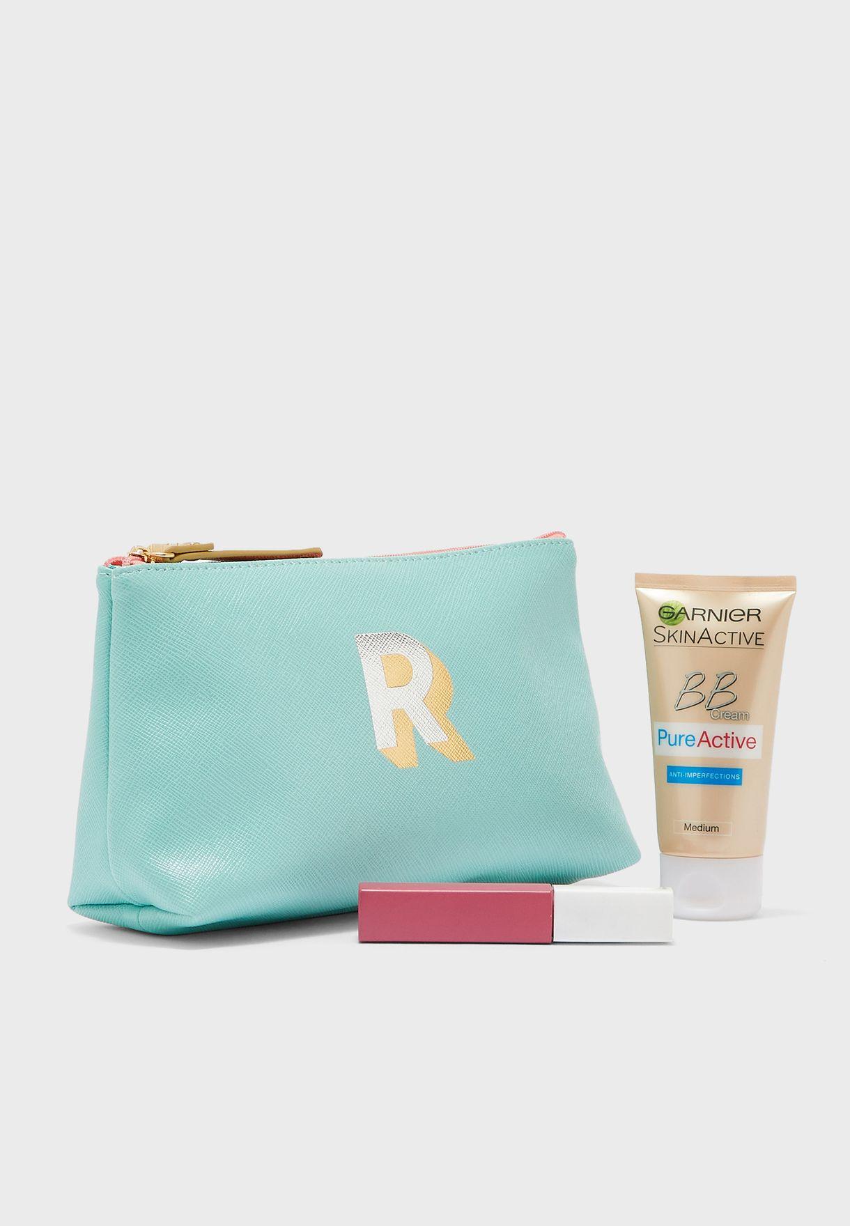 Initial R Make Up Bag