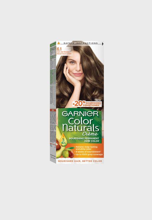 Color Naturals 6.1 Hair Color Dark Ash Blonde