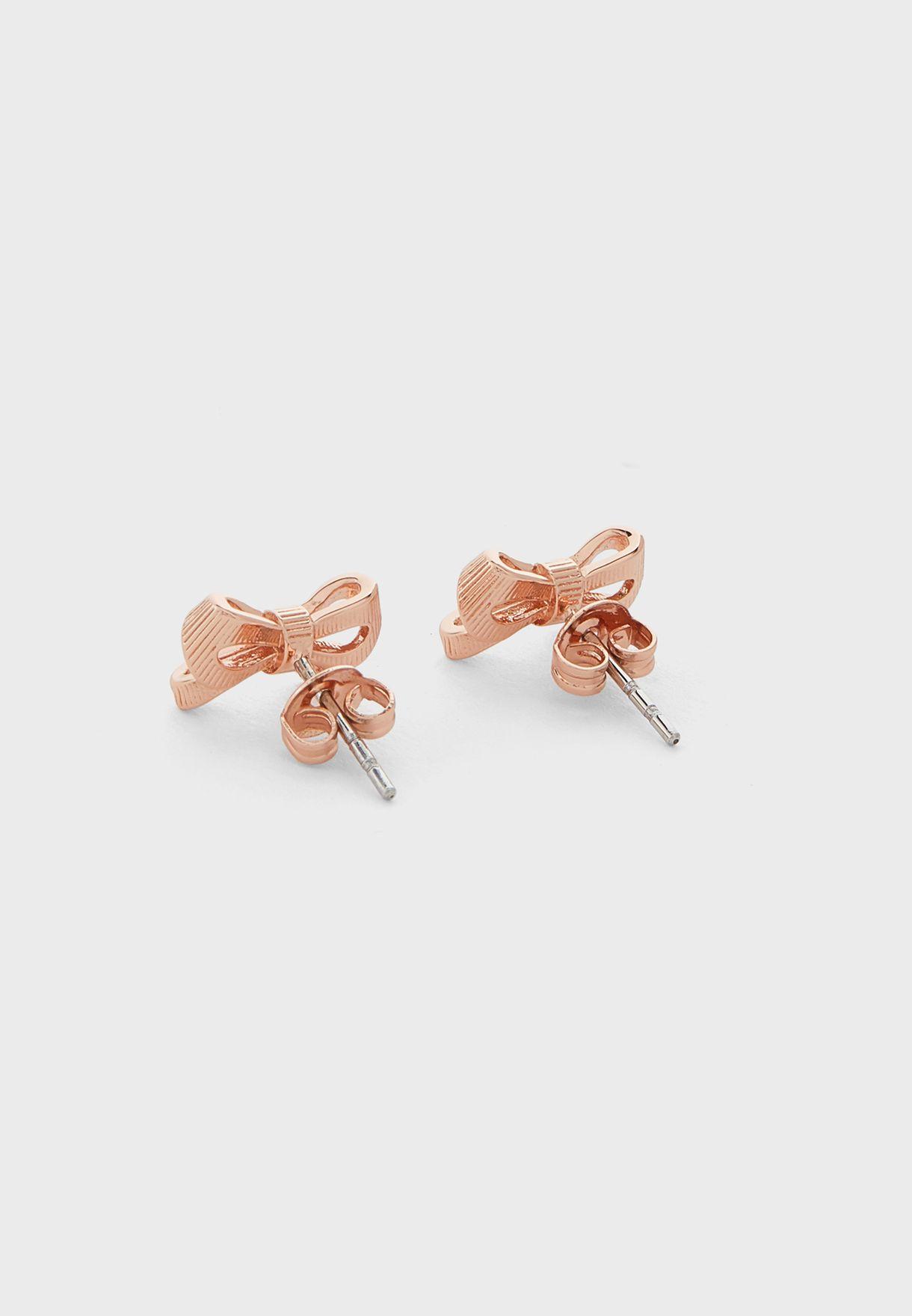 Pollay Petite Bow Stud Earring