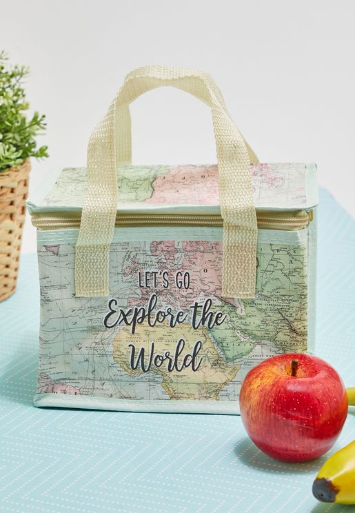 World Explorer Lunch Bag