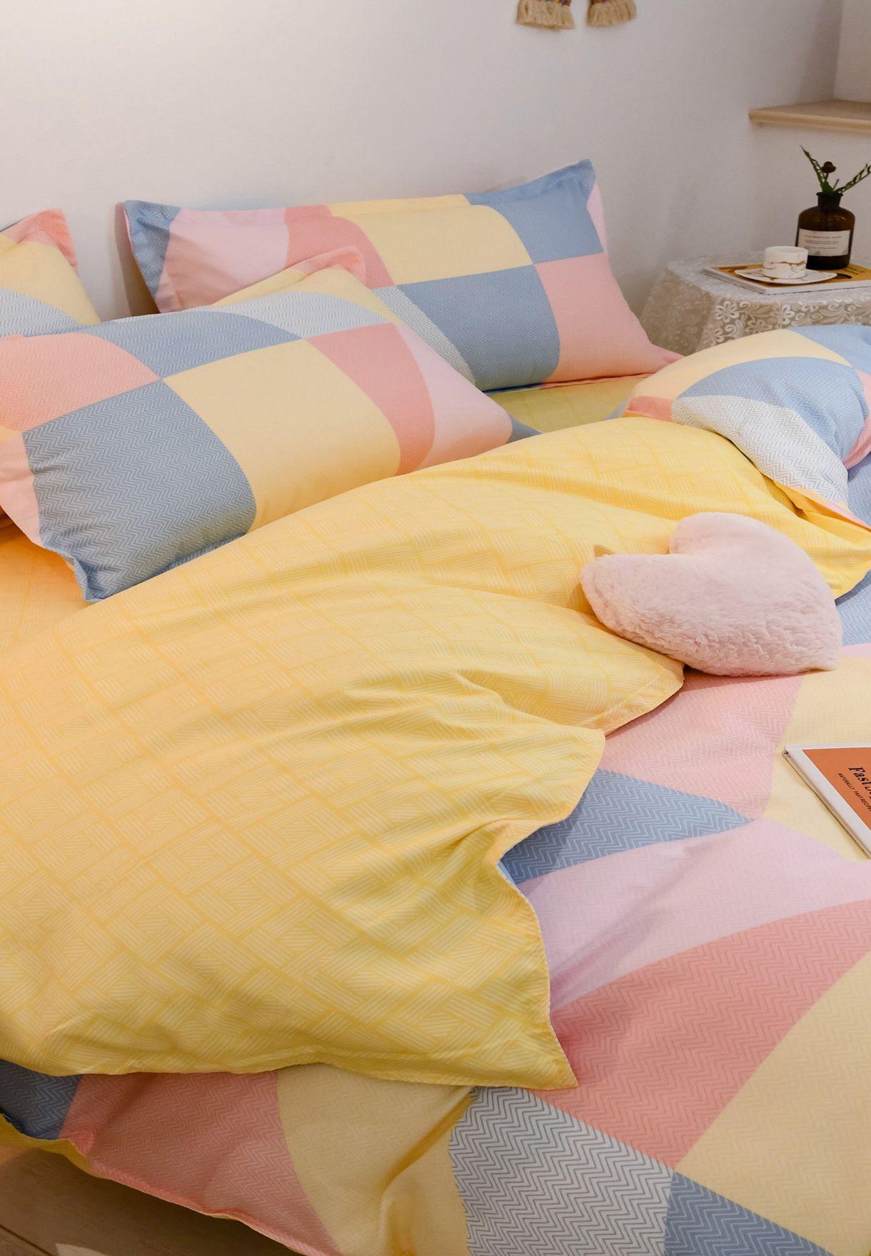 طقم 4 قطع لسرير كينج 200X230 سم