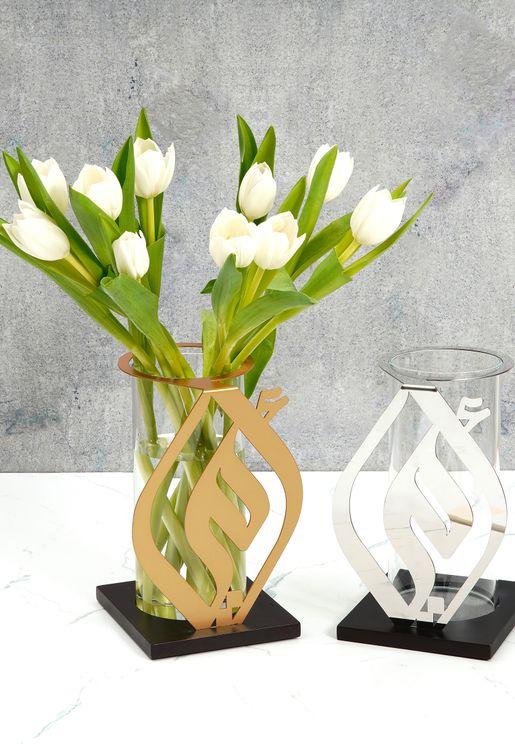 Omi Silver Vase