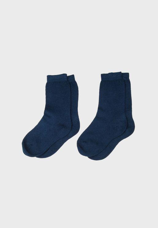 Infant 2 Pack Crew Socks