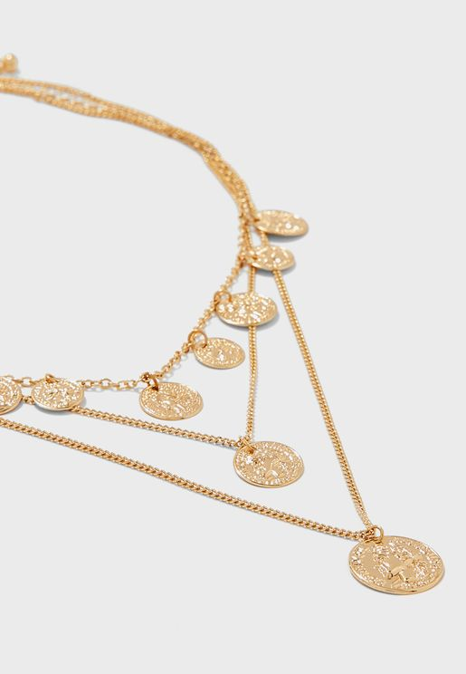 Pendant Short Necklace