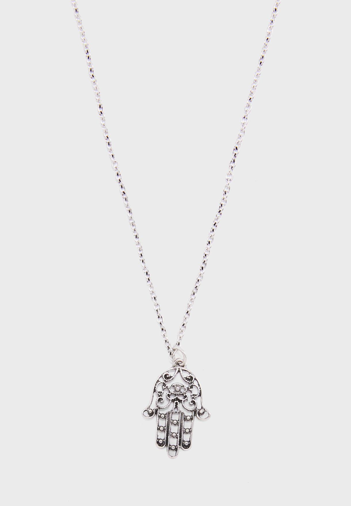 Hamza Palm Necklace