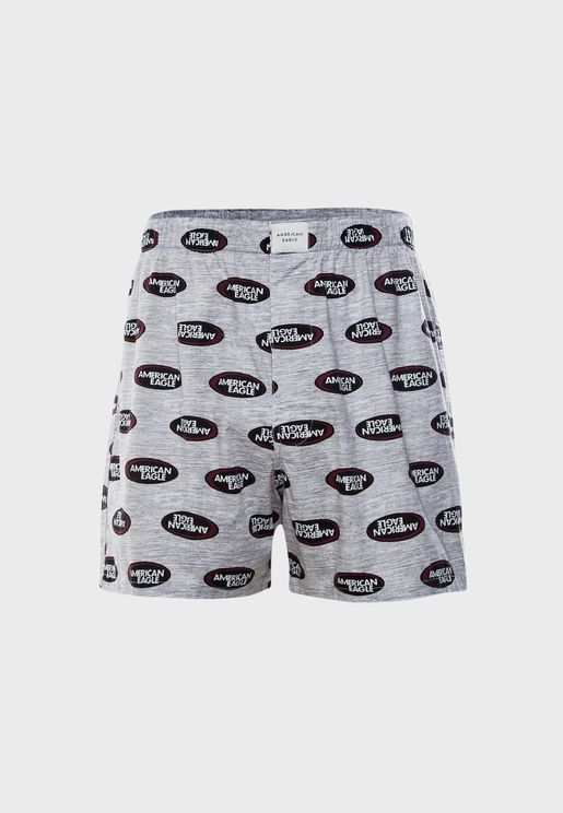 Chips Pattern Boxers