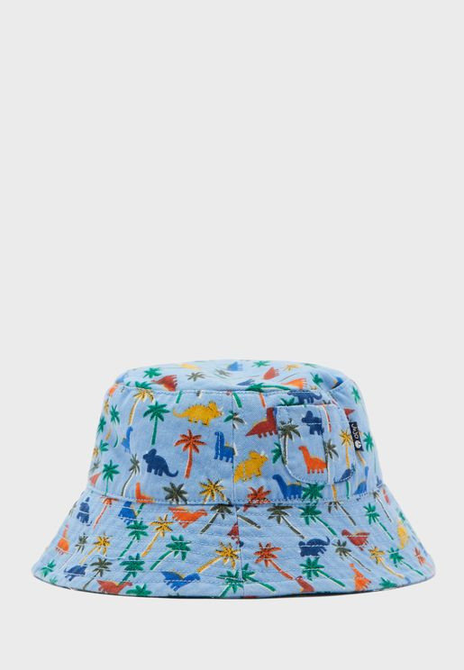 Kids Dino Bucket Hat