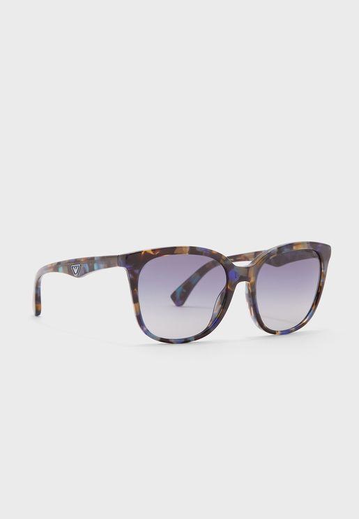 نظارة شمسية كبيرة مطبعة 0Ea4157