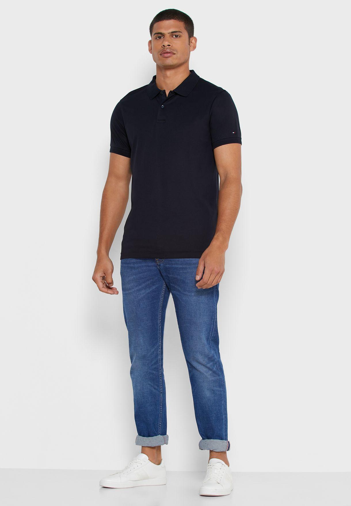 Interlock Slim Fit Polo