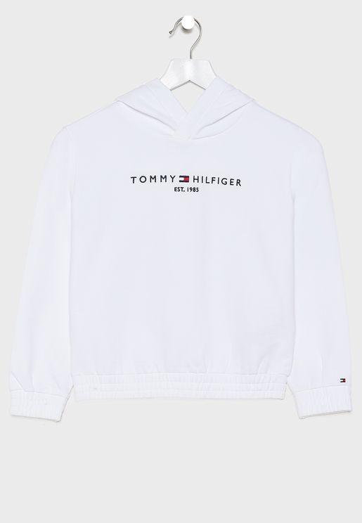 Teen Essential Logo Hoodie