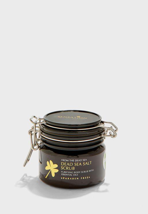 مقشر املاح البحر الميت - عشب الليمون 200 جم