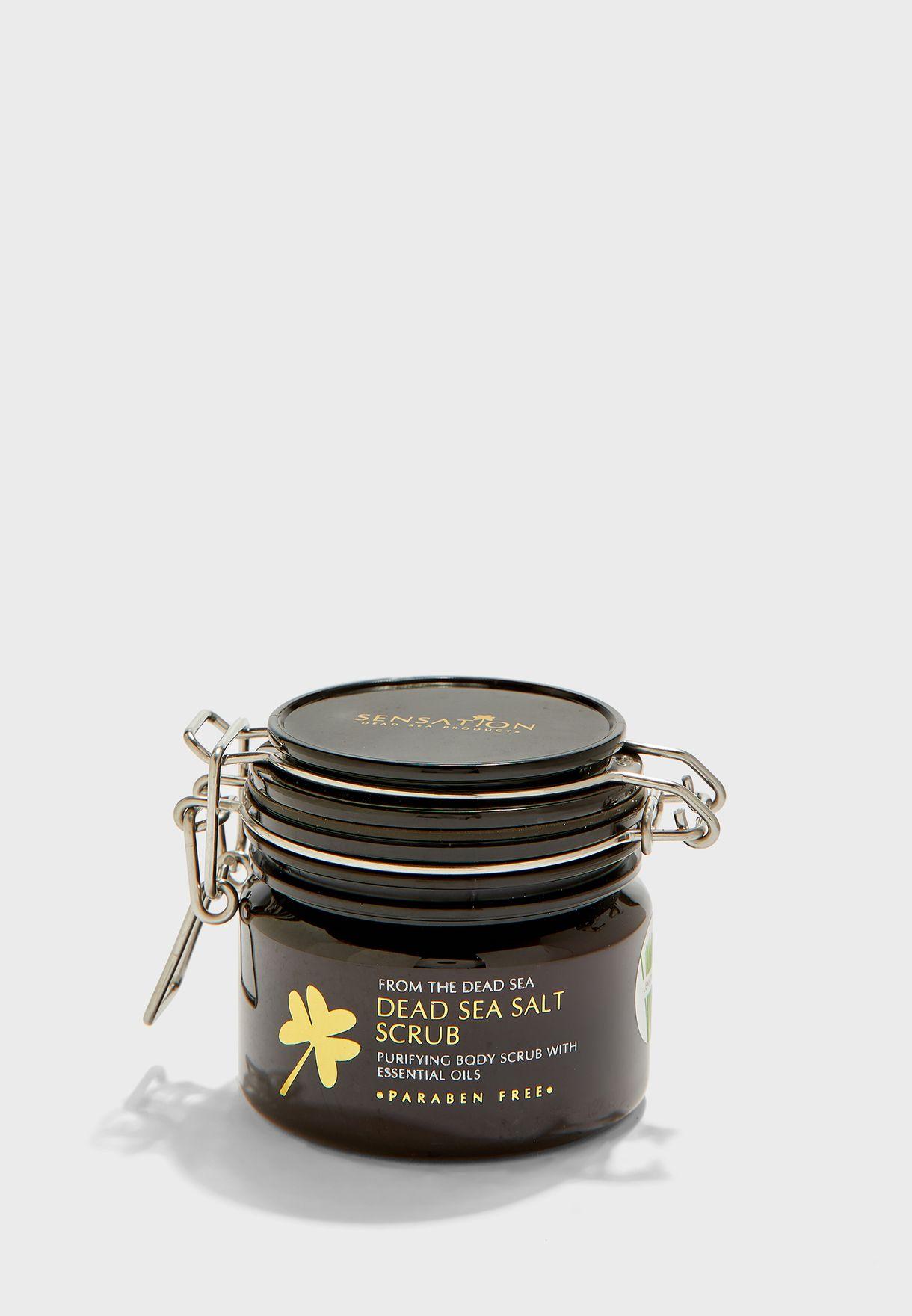 Dead Sea Salt Scrub - Lemon Grass 200g