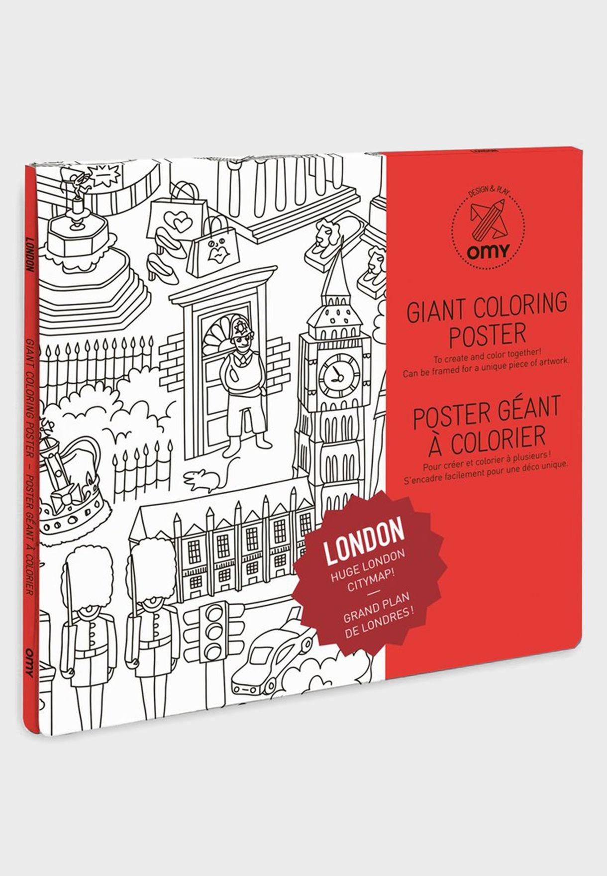 London Large Poster
