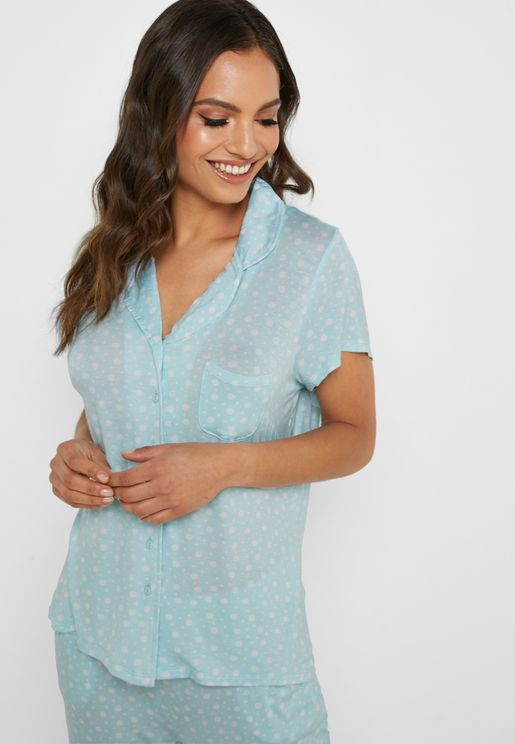 Polka Dot Night Shirt