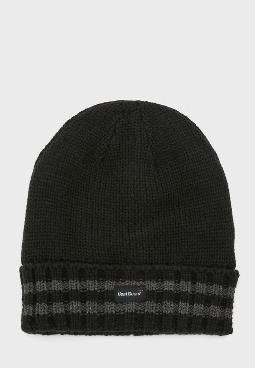MENS THINSULATE HAT WITH STRIPES