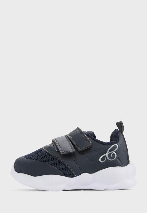 Kids Double Velcro Sneakers