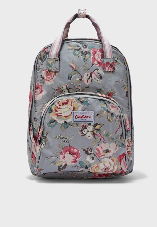 Garden Rose Multi Pocket Backpack
