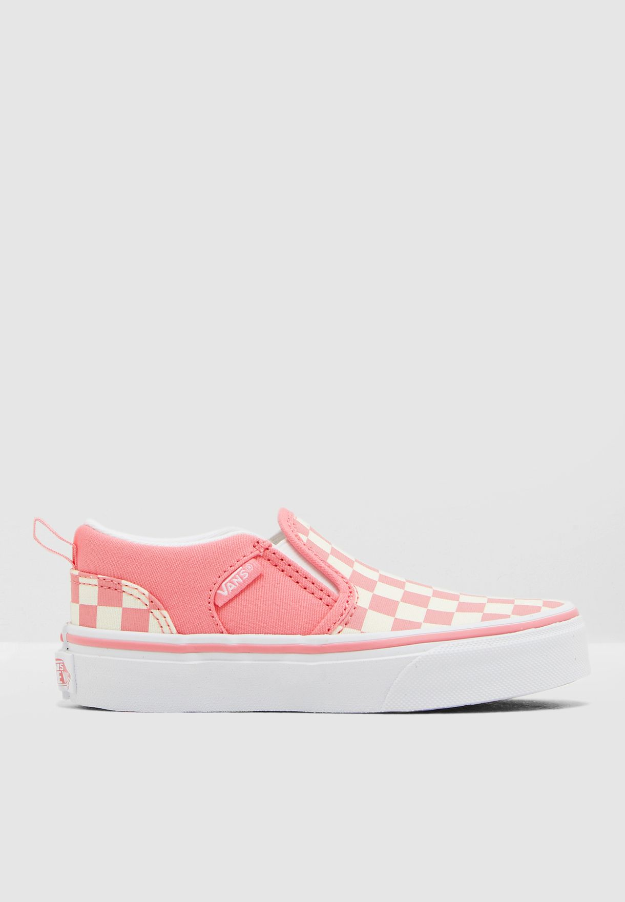 f2681d25b9 Shop Vans pink Kids Checkerboard My Asher 8DSVHK for Kids in UAE ...