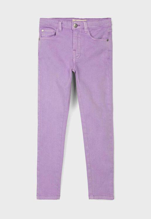 Kids Twill Trousers