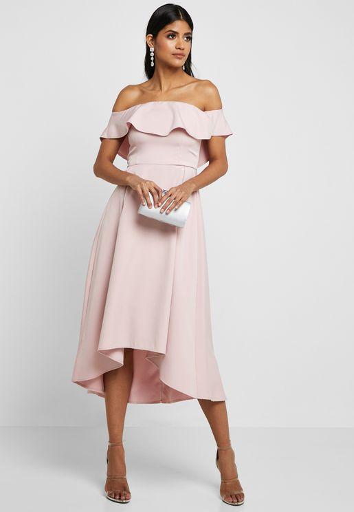 Bardot High Low Dress