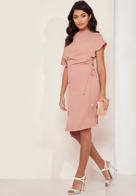 Marcia Side Split Bodycon Dress